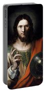 Flemish Salvator Mundi Portable Battery Charger