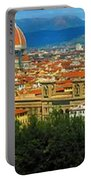 Florence, Italy Panoramic Portable Battery Charger
