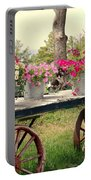 Flower Wagon Portable Battery Charger