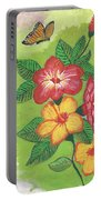 Flowers For My Soul Portable Battery Charger