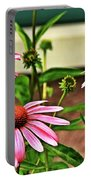 Flowers Portable Battery Charger