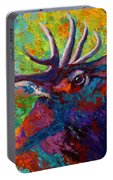Forest Echo - Bull Elk Portable Battery Charger