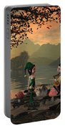 Forest Elves A Sunset Portable Battery Charger