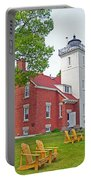 Forty Mile Point Lighthouse Portable Battery Charger