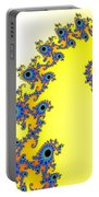 Fractal Seahorse Pattern Portable Battery Charger