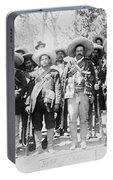 Francisco Pancho Villa Portable Battery Charger