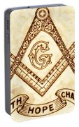 Freemason Symbolism By Pierre Blanchard Portable Battery Charger