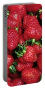 Fresh Strawberries Portable Battery Charger