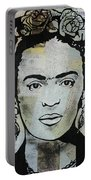 Frida Kahlo Press Portable Battery Charger