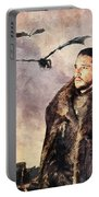 Game Of Thrones. Jon Snow. Portable Battery Charger
