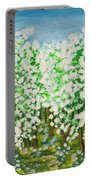 Garden In Blossom Portable Battery Charger