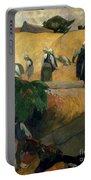 Gauguin: Breton Women Portable Battery Charger