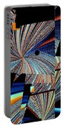 Geometric Abstract 1 Portable Battery Charger