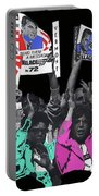 George Wallace For President Supporters Democratic Nat'l Convention Miami Beach Florida 1972-2013 Portable Battery Charger