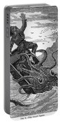 Giant Squid, 1879 Portable Battery Charger