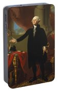Gilbert Stuart - George Washington 1796 Portable Battery Charger