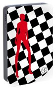 Girls. Red. II Portable Battery Charger