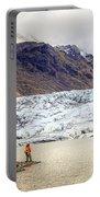 Glacier Lagoon Portable Battery Charger