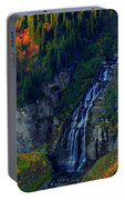 Glacier Waterfall Portable Battery Charger