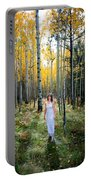 Goddess Walk Portable Battery Charger