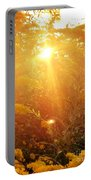 Golden Days Of Autumn Portable Battery Charger