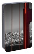 Golden Gate Bridge Panoramic Portable Battery Charger