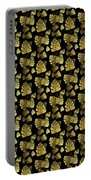 Golden Tropics Pattern Portable Battery Charger