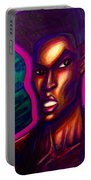 Grace Jones Portable Battery Charger