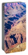 Grand Canyon Sunny Day With Blue Sky Portable Battery Charger
