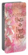 Grateful Hearts Portable Battery Charger