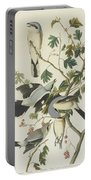 Great American Shrike Or Butcher Bird Portable Battery Charger
