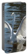 Great Egret Wings Portable Battery Charger