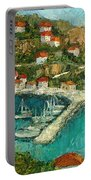 Greek Island Portable Battery Charger