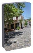 Greek Village Plaza Portable Battery Charger