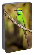 Green Bee-eater Portable Battery Charger