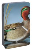 Greenwing Teal Drake Portable Battery Charger