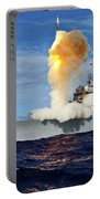 Guided Missile Destroyer Uss Hopper Portable Battery Charger