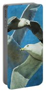 Gulls In Flight Portable Battery Charger