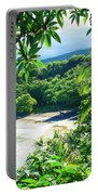 Hamoa Beach Hana Maui Hawaii Portable Battery Charger