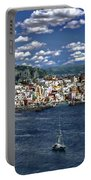 Harbor In Corricella Portable Battery Charger