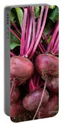 Harvested Organic Beets Portable Battery Charger