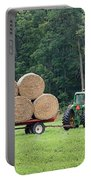 Hauling Hay Portable Battery Charger