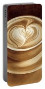 Heart Latte II Portable Battery Charger