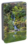 Heavenly Falls In Spring Portable Battery Charger