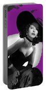 Hedy Lamarr C.1947-2013 Portable Battery Charger