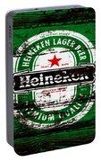 Heineken Beer Wood Sign 1e Portable Battery Charger