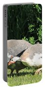 Helmeted Guineafowl Portable Battery Charger
