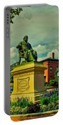 Henry Wadsworth Longfellow Monument - Portland, Maine Portable Battery Charger