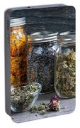 Herbs In Jars Portable Battery Charger