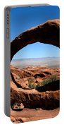 Hiking Through Arches Portable Battery Charger
